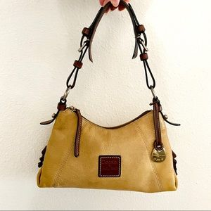 Dooney & Bourke pebble grain trapeze hobo